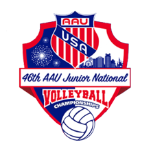 AAU Volleyball Nationals 18's