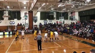 The Patrick School victorious over Roselle Catholic, 64-58