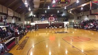 Choctaw Central High School - Girls getting it done in win over Magee High School - Girls, 71-45