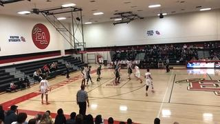 East emerges victorious in matchup against Fossil Ridge, 72-56
