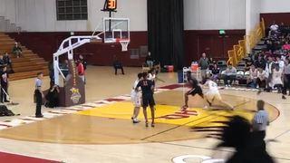 Jordan Brinson Assist highlights (Westchester vs Birmingham)