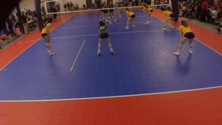 Things end all tied up between RVC 16 Nationals (OD) and Coastal 16 Chris (OD)