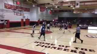 Michael Mensah 3PM highlights, Cal vs. Oregon
