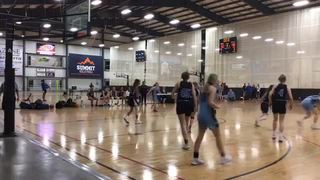 MICHIGAN PREMIER 2022 - BLUE steps up for 63-42 win over MBA 2022 - BROWN
