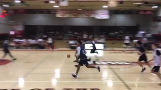 Michael Mensah Block highlights, Cal vs. Oregon