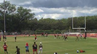 CHAMPIONS ACADEMY HAWAII wins 21-14 over BFL