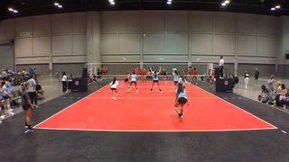 Team Indiana Elite 181 puts down Carolina UVC 18 Premier with the 1-0 victory
