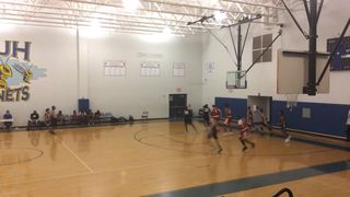 Texas Elte DJH5 emerges victorious in matchup against TNBA - Sadler, 63-51