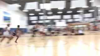 Colorado Cardinals Red (30) steps up for 59-39 win over The Legion of Hoops Blue (32)