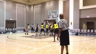 Team FOE with a win over PTA Performance, 42-38
