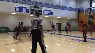 Norcross Heat (Red) emerges victorious in matchup against Titans Hawks, 56-47