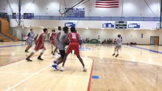 GA Man Up getting it done in win over Norcross Heat (Red), 46-36
