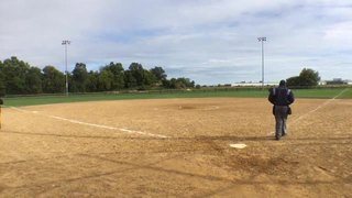 Naperville Diamonds 18U vs BATS 18U - Lewis/Everson