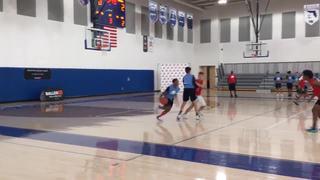 Blue Team wins 61-58 over Red Team