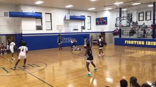 HUNTINGTON PREP getting it done in win over CAROLINA BASKETBALL ACADEMY, 80-56