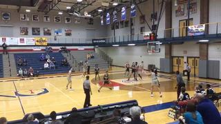 Sunrise Christian steps up for 76-18 win over On Point Academy