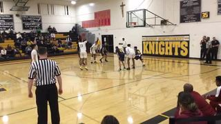 Bishop Montgomery gets the victory over Cantwell-SHM, 99-29