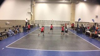 Things end all tied up between Sakudi Volleyball 18 Boys and SA TRIBE 18