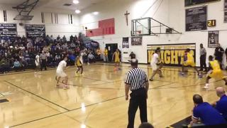 St. Bernard wins 59-56 over Bishop Montgomery