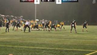 Brady J. streaming Football at Tigard, OR
