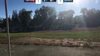 Colby D. streaming Softball at Monte Sereno, CA