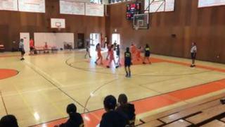 Harry T. streaming Basketball at San Marino, CA