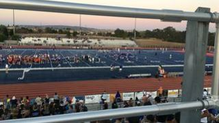Leonard N. streaming Football at Folsom High School