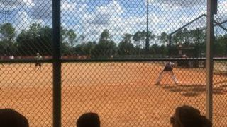 Dominique S. streaming Softball at