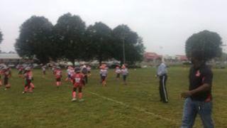 Kareem S. streaming Football at Huntingdon Valley, PA