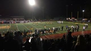 West Linn Lions  gets the victory over Lake Oswego Lakers, 35-7