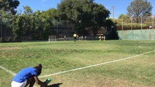 Greg L. streaming Soccer at Montrose, CA