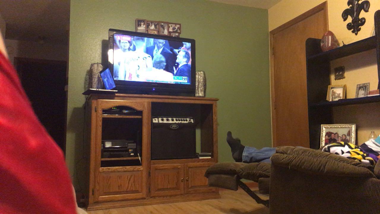 Chaz C. streaming Basketball at Texhoma, OK