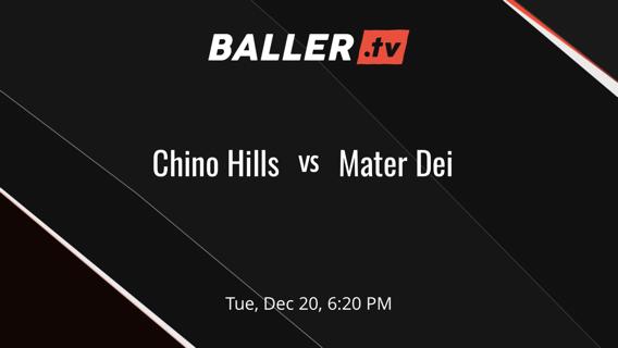 Chino Hills vs Mater Dei