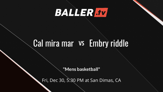 Cal mira mar  vs Embry riddle