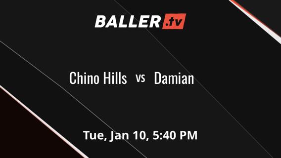 Chino Hills vs Damian