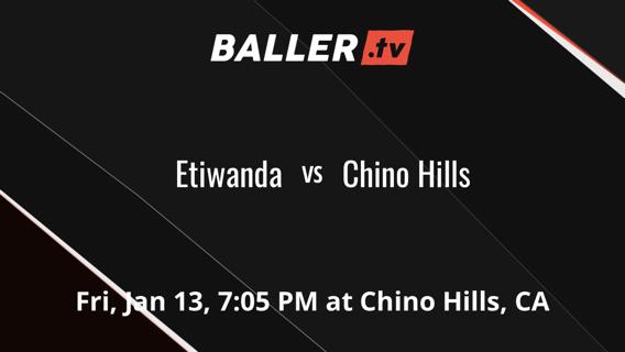 Etiwanda  vs Chino Hills