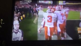 Clemson wins 35-31 over Bama