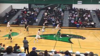 Staley Falcons  wins 65-44 over Smithville Warriors