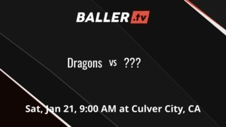 Dragons vs culver city