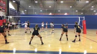 PVA  14 Elite triumphant over NVL Academy White 14, 15-11