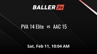 PVA 14 Elite vs AAC 15