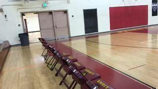 Judi Edwards streaming Basketball at Los Angeles, CA