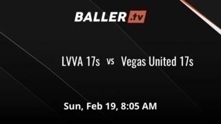 Vegas United 17s 25 LVVA 17s 18