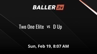 Two One Elite gets the victory over D Up, 51-23