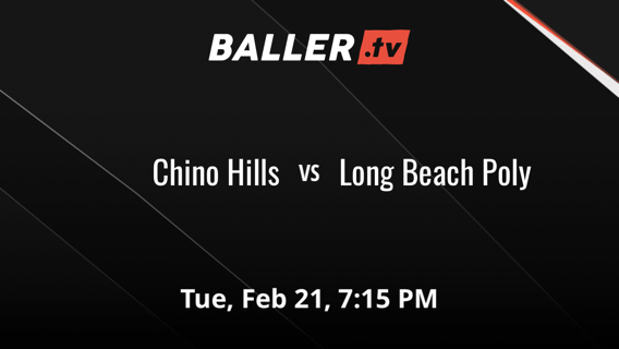 Chino Hills vs Long Beach Poly