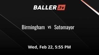 Birmingham vs Sotomayor