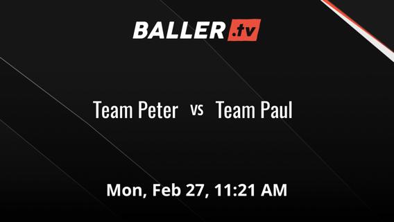 Team Peter vs Team Paul