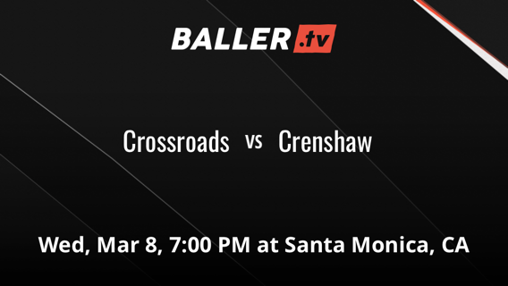 Crossroads vs Crenshaw