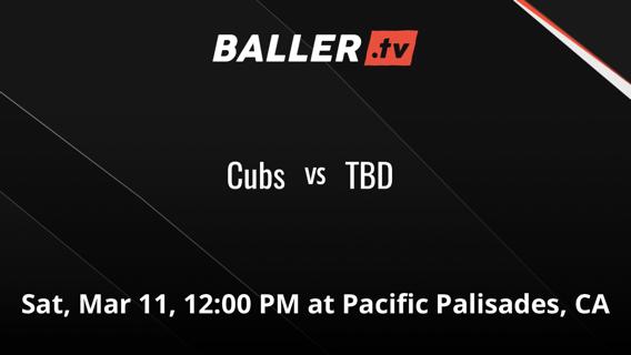 Cubs vs TBD