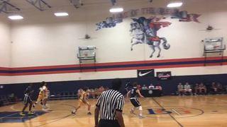 Tres Hoops 16 Black vs Vegas Elite 2020